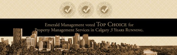 2018 Top Choice Award Winner: Best Property Management Services Calgary