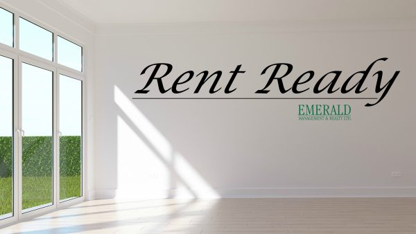 "Tips to get your Rental Unit ""Rent Ready"""